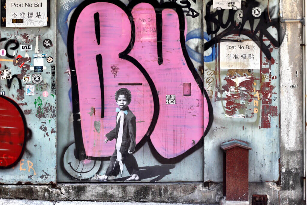 Hong kong Street Art - Sheung Wan, Central and Jordan :: #iczzHK @iczz @amonraya