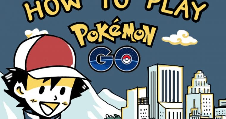 #Infographic by #infofed สรุป [How to play Pokémon Go] วิธีการเล่น Pokémon Go
