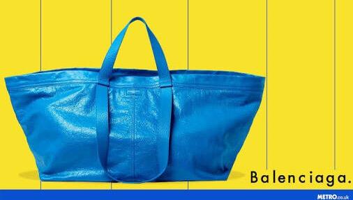 Balenciga :: The IKEA bag New collection 2017