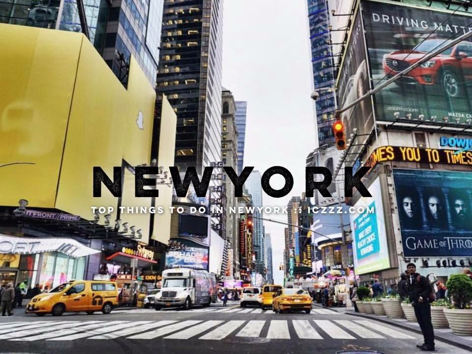 Top things to do in New York, USA :: More than 80 locations that you shouldn't miss. @iczz #iczzNewYork