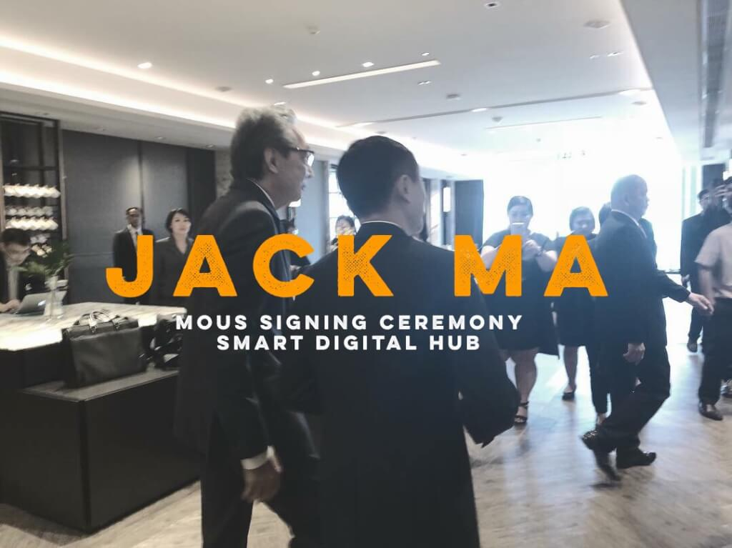 Jack ma MOUs Signing Ceremony :: Smart Digital Hub :: Thailand
